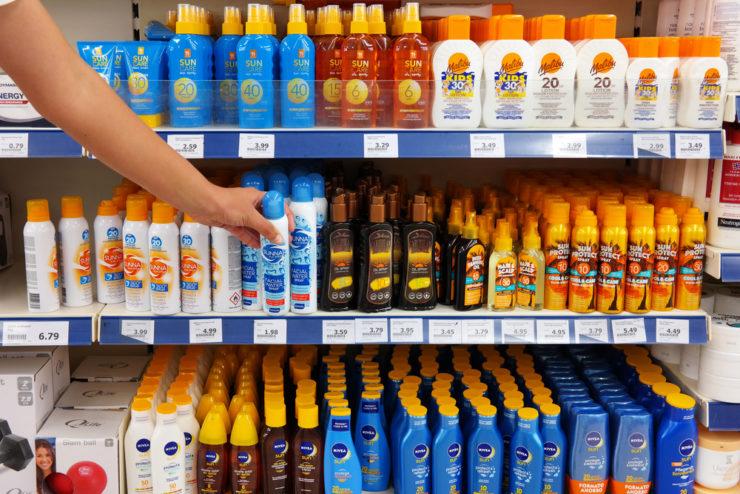 選擇推薦防曬品的重點