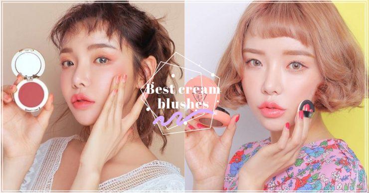 cream blushes