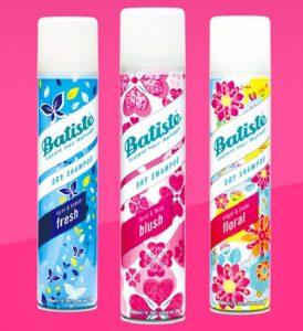 【芭緹絲Batiste】秀髮乾洗噴劑