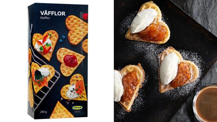 IKEA必買18 #VÅFFLOR心型鬆餅