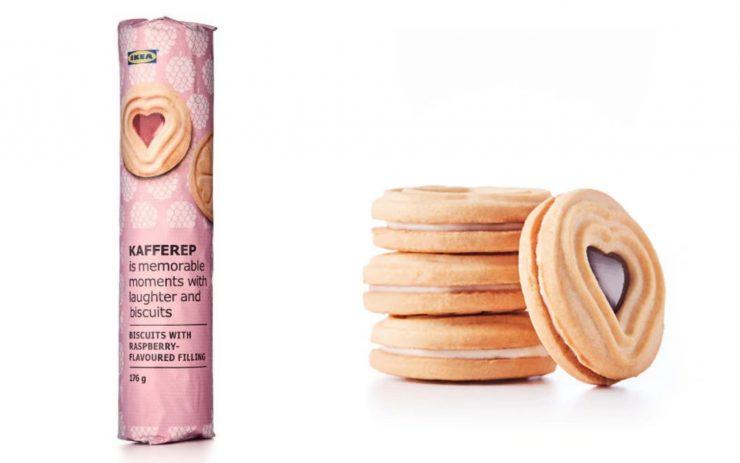 IKEA必買16 #KAKOR HALLON覆盆子夾心餅