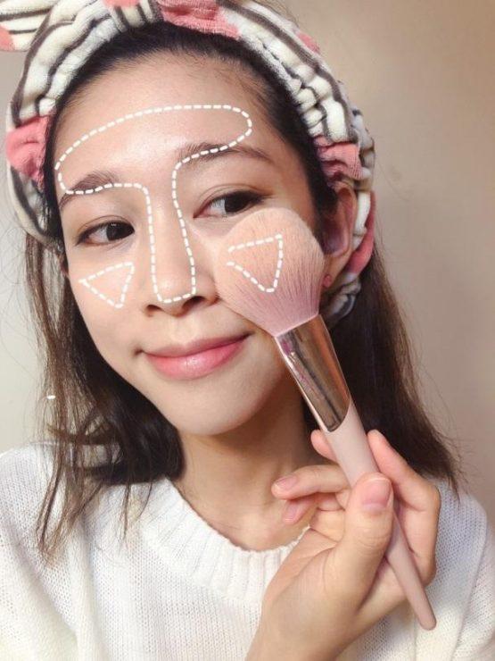 化妝 新手 教學 妝容 保養 定妝 蜜粉