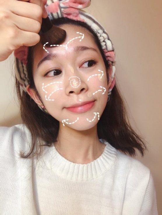 化妝 新手 教學 妝容 保養 粉底 刷具