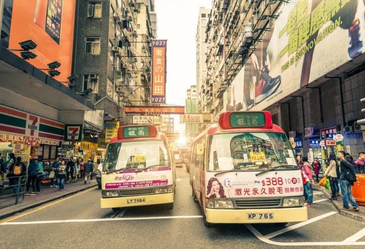 香港 文化 特色 小巴牌