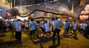 香港 傳統 文化 舞火龍