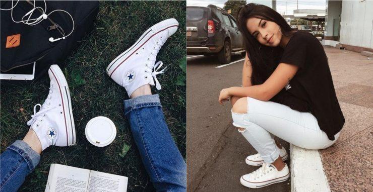 白色運動鞋