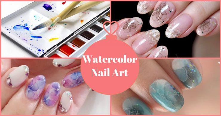 WatercolorNailArt