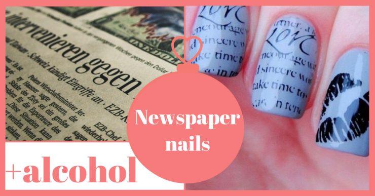 newspapernails