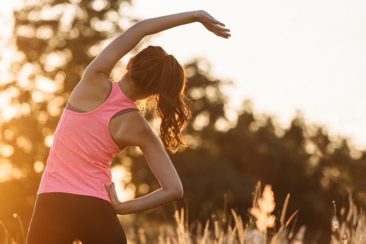 背部 減肥 運動