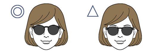 選擇適合自己臉型的太陽眼鏡