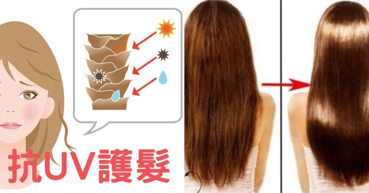 抗UV護髮