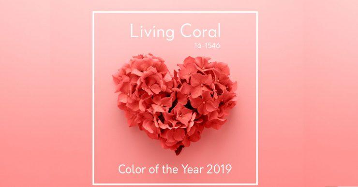 活力珊瑚橘Living Coral