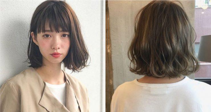 C字短髮燙髮