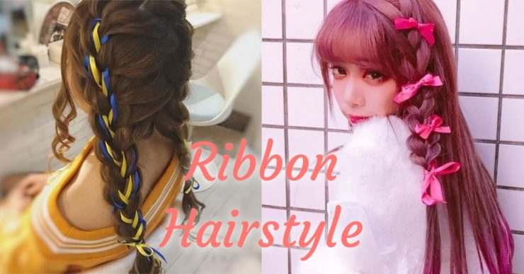 Ribbon Hairstyle