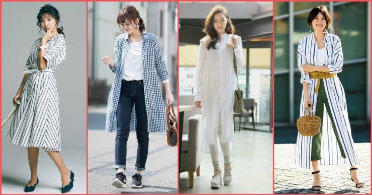 襯衫洋裝可是2019年的流行趨勢之一!介紹今年絕對會流行的襯衫洋裝的時尚穿搭法!