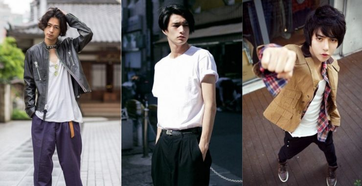 日系男生穿搭