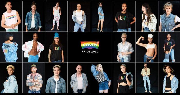 LEVI'S® 2020 PRIDE 平權系列 用你的聲音,為自己發聲