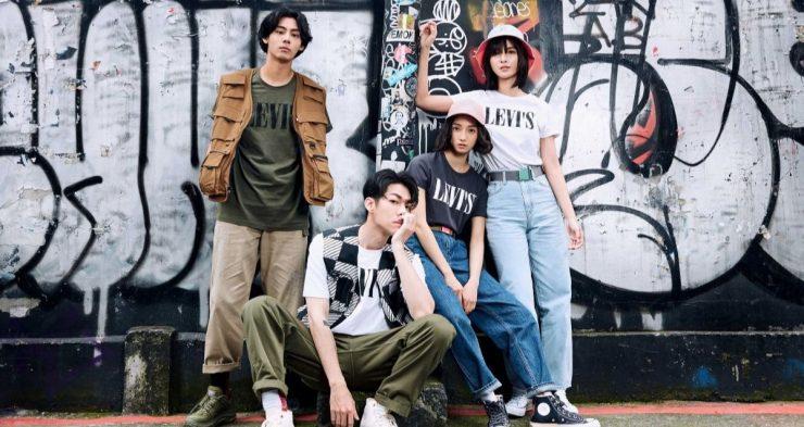 全球丹寧服飾領導品牌 LEVI'S®從近代摩登的時髦刊物中擷取靈感,推出了「當代摩登 SERIF LOGO TEE 系列 」,包含了玩色、玩創意、玩版型、玩原創等四大潮流趨勢。夏天