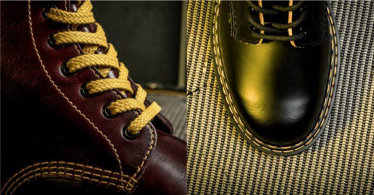 Dr Martens雙黃線鞋款