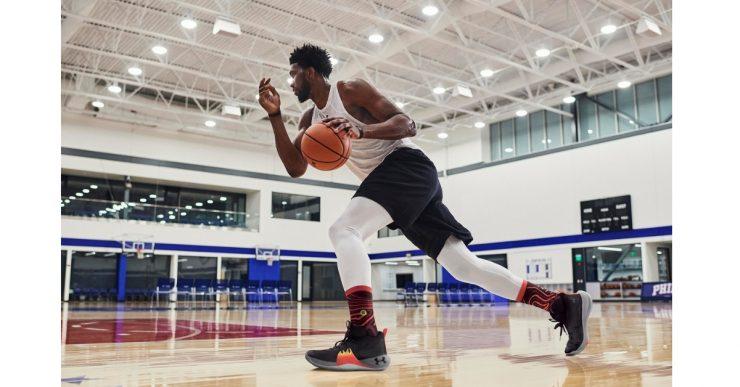 UNDER ARMOUR攜手Joel Embiid推出首代簽名籃球鞋
