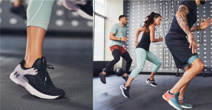 UNDER ARMOUR新款運動機能鞋