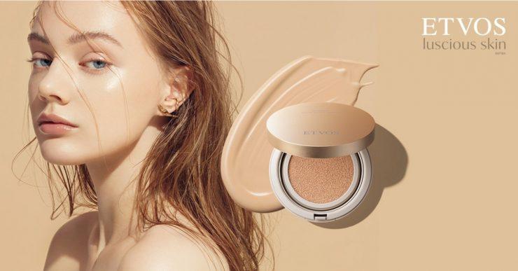 ETVOS推出敏感肌也能安心使用的保養級氣墊粉餅,讓妳打造宛如天生的緊緻水光肌!